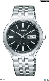 CITIZEN[シチズン]EXCEED[エクシード] AT6000-52E エコ・ドライブ電波時計 正規品