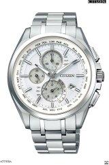 CITIZEN[シチズン]ATTESA[アテッサ]  AT8040-57A エコ・ドライブ電波時計(ワールド・タイム機能) 正規品