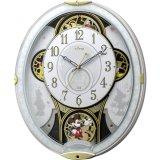 CITIZEN[シチズン]RHYTHM[リズム]    ミッキー&フレンズ M509 4MN509MC03 電波からくり時計 正規品