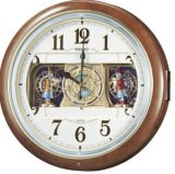SEIKO[セイコー] セイコークロック RE559H 電波からくり時計 正規品
