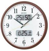 SEIKO[セイコー] セイコークロック KX383B 電波掛け時計 正規品