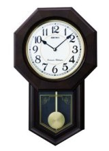 SEIKO[ セイコー] セイコークロック RQ325B 掛け時計 電波時計 正規品