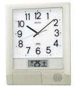SEIKO[セイコー] セイコークロック PT201S 掛け時計 電波時計 【32チャンネルプログラム】