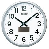 SEIKO[セイコー] セイコークロック SF242S ハイブリッドソーラー 掛け時計 正規品