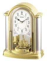 SEIKO[セイコー] セイコークロック BY418G 電波置き時計  正規品