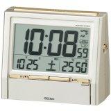 SEIKO[ セイコー] セイコークロック DA206G 電波目覚まし時計  正規品