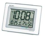 SEIKO[ セイコー] セイコークロック SQ686W 電波目覚まし時計  正規品