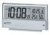 SEIKO[ セイコー] セイコークロック SQ773S 電波目覚まし時計  正規品