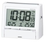 SEIKO[ セイコー] セイコークロック DA206W 電波目覚まし時計  正規品