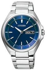 CITIZEN[シチズン]ATTESA[アテッサ]  AT6050-54L エコドライブ・電波時計 デイデイトモデル メンズ 正規品
