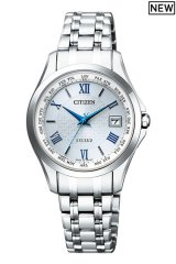 CITIZEN[シチズン]  EXCEED[エクシード] EC1120-59B エコ・ドライブ電波時計(ワールドタイム機能) 正規品