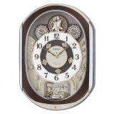 SEIKO[セイコー] セイコークロック RE578B 電波からくり時計 正規品