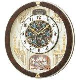 SEIKO[セイコー] セイコークロック RE579B 電波からくり時計 正規品