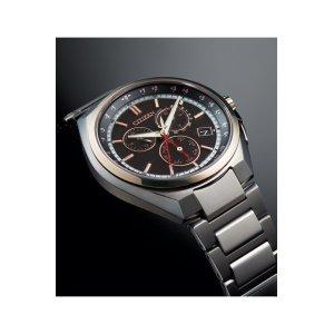 画像2: CITIZEN[シチズン]ATTESA[アテッサ] CB5044-62E エコ・ドライブ電波時計(ワールド・タイム機能) 正規品