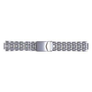 画像1: BAMBI[バンビ] オスカー ブロック ダブルロック OSB4477-S 正規品 「腕時計交換ベルト」