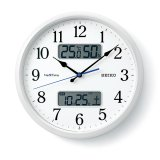 SEIKO[セイコー] セイコークロック ZS251W 電波掛け時計 正規品