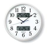 SEIKO[セイコー]セイコークロック ZS250W 電波掛け時計 正規品