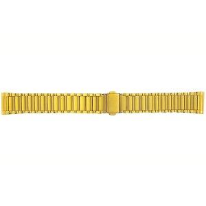 画像1: BAMBI[バンビ] バンビメタル ブロック ワンタッチ BSB4510-G  正規品 「腕時計交換ベルト」
