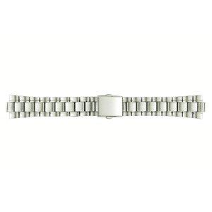画像1: BAMBI[バンビ] バンビメタル ブロック ワンタッチ BSB4410-S  正規品 「腕時計交換ベルト」