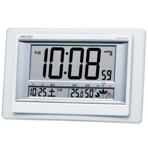 画像1: SEIKO[セイコー] セイコークロック SQ432W 電波置掛兼用時計 正規品