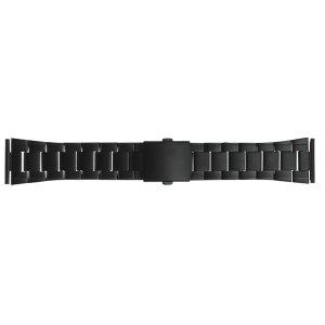 画像1: BAMBI[バンビ] バンビメタル ブロック ワンタッチ BSB1178B  正規品 「腕時計交換ベルト」
