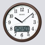 SEIKO[セイコー] セイコークロック KX244B 電波掛け時計 正規品