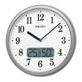 SEIKO[セイコー] セイコークロック KX244S 電波掛け時計 正規品