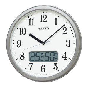 画像1: SEIKO[セイコー] セイコークロック KX244S 電波掛け時計 正規品