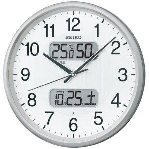 画像1: SEIKO[セイコー] セイコークロック KX383S 電波掛け時計 正規品