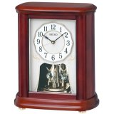 SEIKO[セイコー] セイコークロック BY242B 電波置き時計  正規品