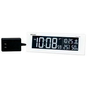 画像1: SEIKO[セイコー] セイコークロック DL305W 電波置き時計 正規品