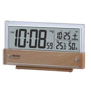 画像1: SEIKO[セイコー] セイコークロック SQ782B 電波目覚まし時計  正規品