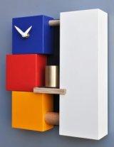 pirondini『ピロンディーニ』1002_Clock_Bell_Mondrian_C 正規品