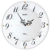 SEIKO[セイコー] セイコークロック FS513W   大人ディズニー  電波クロック 掛け時計 正規品