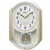 SEIKO[セイコー] セイコークロック AM263S 電波からくり時計 正規品