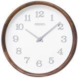 SEIKO[セイコー] セイコークロック KX239B 自然な素材感を大切にぬくもりを感じる掛時計 nu・ku・mo・ri シリーズ 正規品