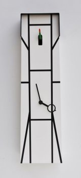 pirondini『ピロンディーニ』cuckoo clock collection 504 TIMBER Bianco 正規品