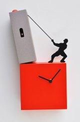 pirondini『ピロンディーニ』cuckoo clock collection 505 LO TENGO Rosso 正規品