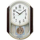 SEIKO[セイコー] セイコークロック AM264B 電波からくり時計 正規品
