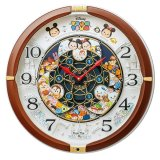 SEIKO[セイコー] セイコークロック FW588B キャラクターディズニーツムツム からくり掛け時計 正規品